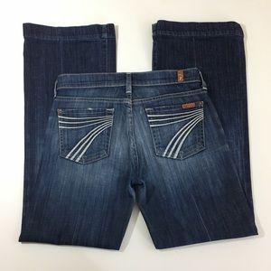 7FAM 7 For All Mankind Dojo Bootcut Jeans